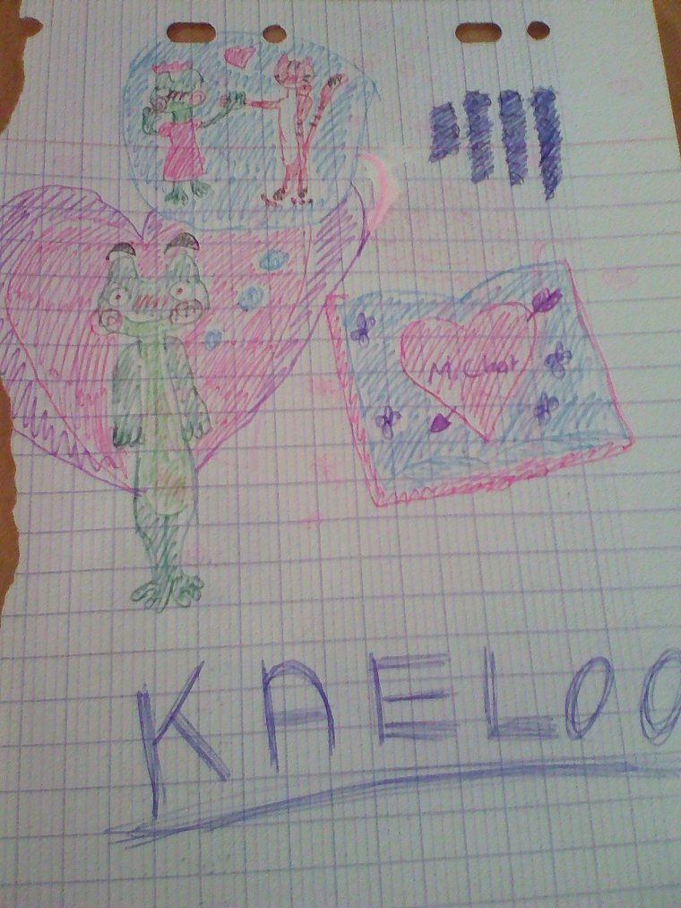 Petits brouillons de Jade, Kaeloo et M.Chat
