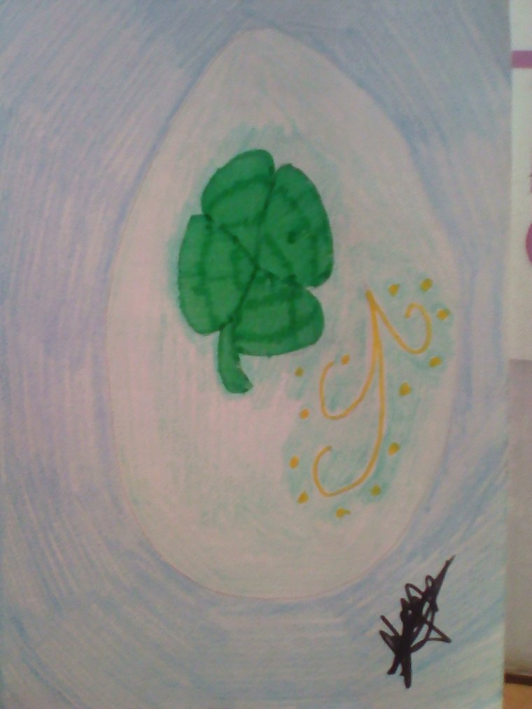 Oeuf de Pâques n°8 : Jade