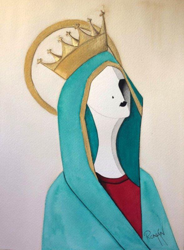 Virgen del Rosario...