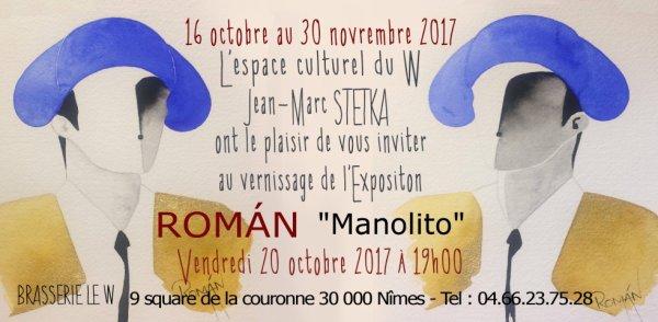 Merci à mon Ami Jean Marc Stetka pour son invitation....Vernissage vendredi 20 octobre à partir de 19h00.
