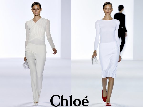Chloé SS11 & Yves Saint Laurent SS11 | Paris Fashion Week