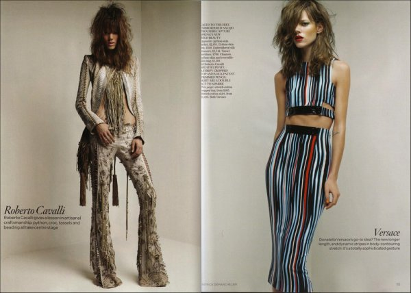 Look Forward | Vogue UK | February 2011 | Shot by Patrick Demarchelier