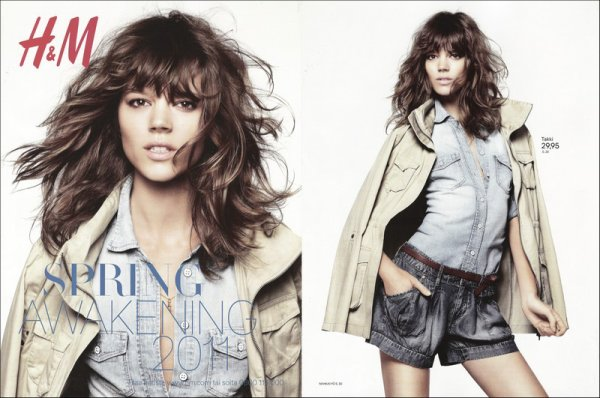Freja Beha & Raquel Zimmermann for H&M