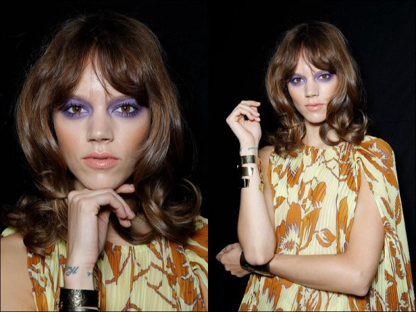 Backstage @ Etro SS11 with Abbey Lee, Caroline, Jac & Karlie | Milan Fashion Week