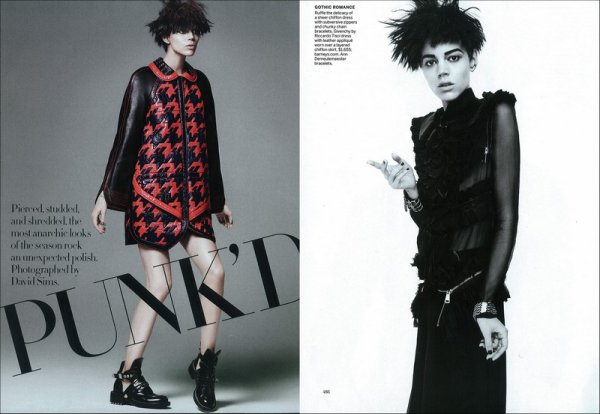 Punk'd | US Vogue | March 2011 | Shot by David Sims
