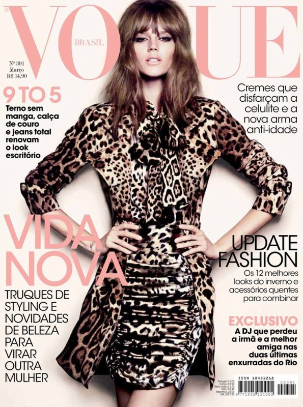 Freja Beha for Vogue Brasil | March 2011 | Shot by Henrique Gendre