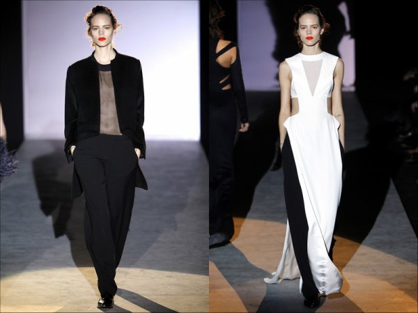 & She's back in the Game. | Hakaan F/W2011.12, Paris Fashion Week