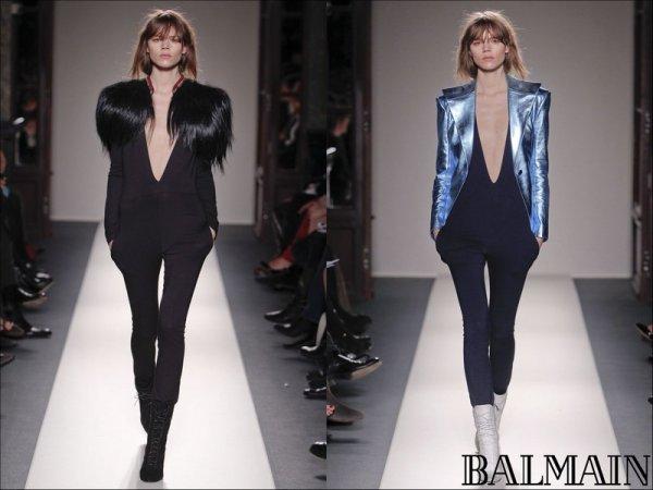 Balmain F/W2011.12 (leading the finale) | Paris Fashion Week