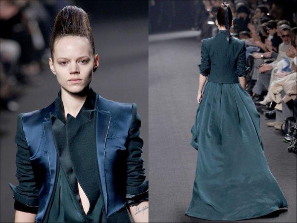 Lanvin F/W2011.12 & Haider Ackermann F/W2011.12 | Paris Fashion Week