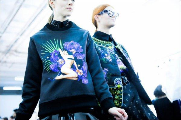 Givenchy F/W2011.12 (+backstage) | Paris Fashion Week