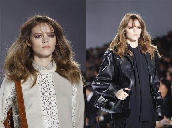 Chloé F/W2011.12, Paris Fashion Week | Freja opened