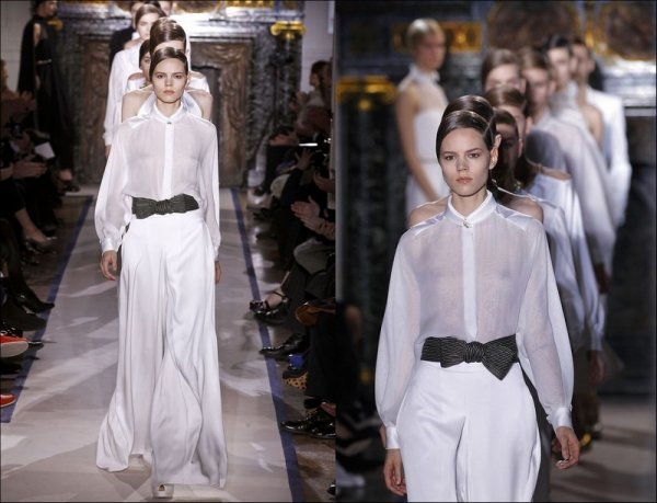 Yves Saint Laurent F/W2011.12, Paris Fashion Week | Freja closed