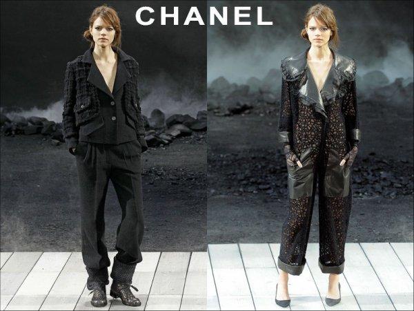Chanel F/W2011.12, Paris Fashion Week | Freja opened