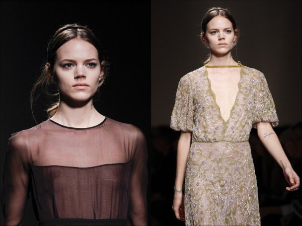 Valentino F/W2011.12, Paris Fashion Week | Freja closed