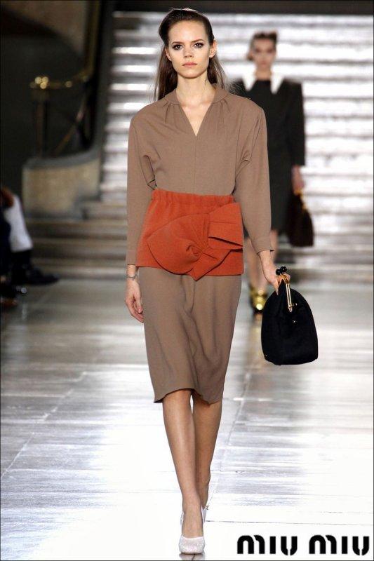 Louis Vuitton F/W2011.12 & Miu Miu F/W2011.12 | Goodbye, Paris