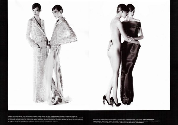 Bal de la Couture | Numéro #121 | March 2011 | Shot by Karl Lagerfeld