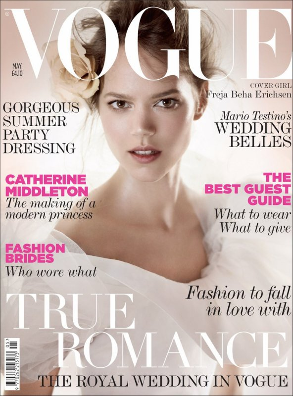 A Modern Bride for UK Vogue | May 2011 | Shot by Mario Testino