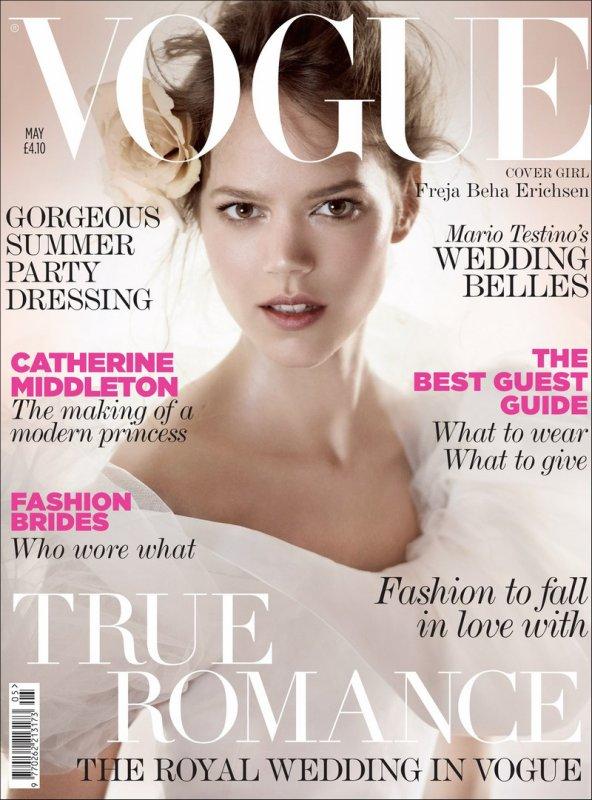 A Modern Bride for UK Vogue | May 2011 | Shot by Mario Testino