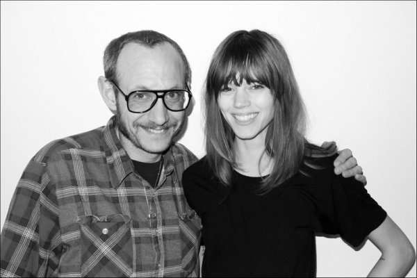 Freja Beha in Terry's studio | April 7th