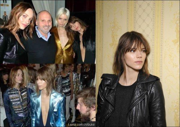 Backstage @ Balmain with Karmen & Abbey | Paris F/W2011.12 Fashion Week