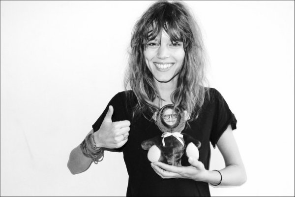 Freja Beha & Arizona Muse @ Terry's studio | April 19th