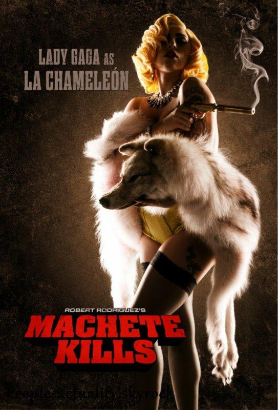Lady Gaga dans ''Machete Kills'' . Que dit la presse de son jeu d'actrice ?