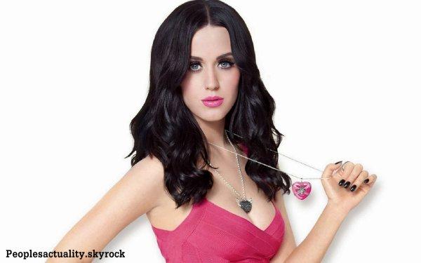 Katy Perry : '' Je suis tombée très bas parce que je suis humaine '' .