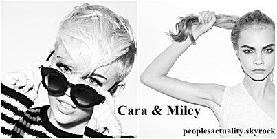 Miley Cyrus et Cara Delevingne virées d'un coffee shop d'Amsterdam !