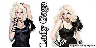 Lady Gaga : Nouvel égérie de Versace .