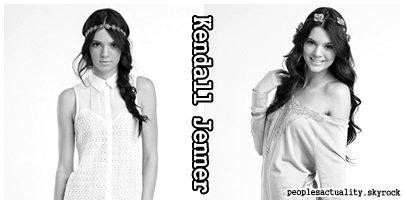 Kendall Jenner .