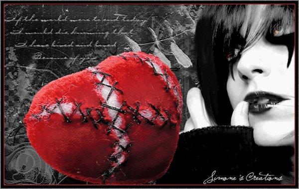Un coeur si bléssé....des cicatrices qui ne se refermeront jamais....
