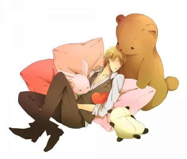 Shizuo sleeping (fanart)