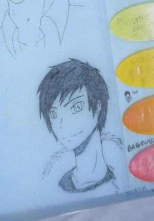 Shizuo et Izaya (dessins)