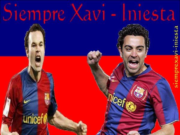 """Bienvenue sur le blog """" SiempreXavi-Iniesta """""""