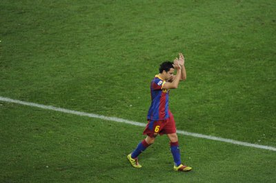 Photo match FC barcelone-Real Sociedad ( 12 décembre 2010 )