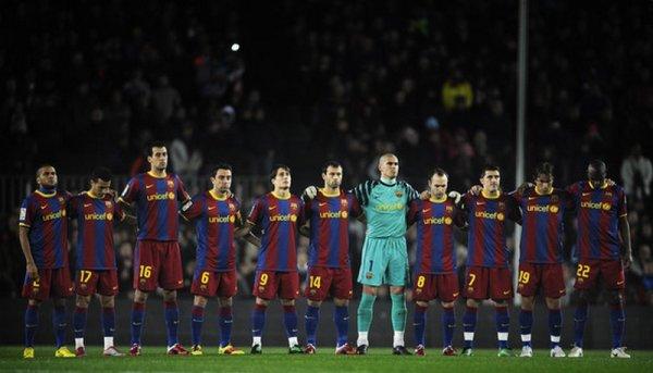FC Barcelone 2 - Levante 1 ( 02-01-2011)