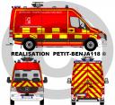 Mercedes Sprinter Sapeurs - Pompiers des Yvelines France