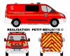 Ford Custom Sapeurs-Pompiers du Val D'Oise
