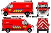 Renault Master Balisage Pompiers