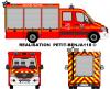 Mercedes Sprinter 519cdi Véhicule Secours Routier Pompier Français