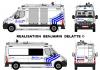 Renault Master Police Bruxelles CAPITALE Ixelles ZP5339