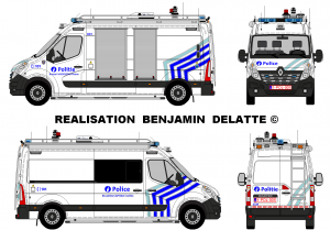 Renault Master Police Bruxelles CAPITALE Ixelles ZP5339