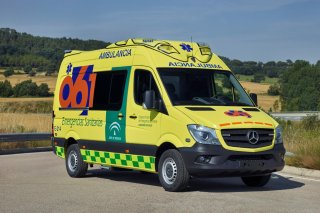 New Mercedes Sprinter Ambulancia EPES 061 (Bergadana)