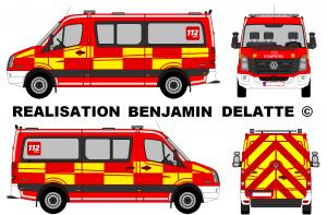 Volkswagen Crafter pompiers Belgique multifonction