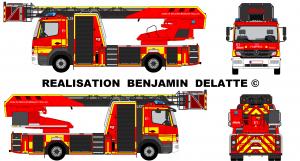 Mercedes Atego EPA Pompiers Zone de secours Brabant Wallon