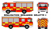 Mercedes Atego Autopompe Service d'Incendie (Zone de Secours Hainaut Centre)