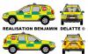 Dacia Duster Dir-Med 112 (Directeur des secours médicaux)