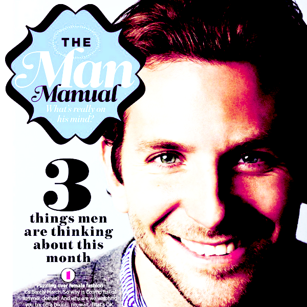 Talentueux, Merveilleux, Travailleur, Réservé, Discret, Simple, Authentique, Charismatique, Sublime, Souriant, Intelligent, Charmant, Séduisant... En deux mots : BRADLEY COOPER  La perfection au Masculin ♥