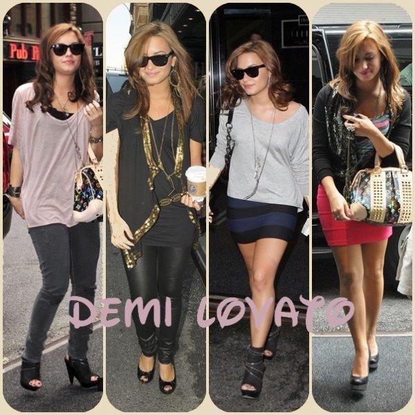 Les Tops Du Mois D'Aout de Demi Lovato .. Quel Tenue Préférez-vous ?