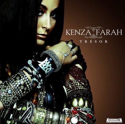 Pochette du nouvel album de kenza Farah (15 Novembre 2010 )